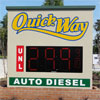 Gas Station Sign - Quick Way