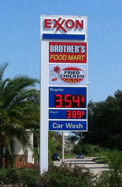 Gas Prices Orleans >> Gas Station Signs