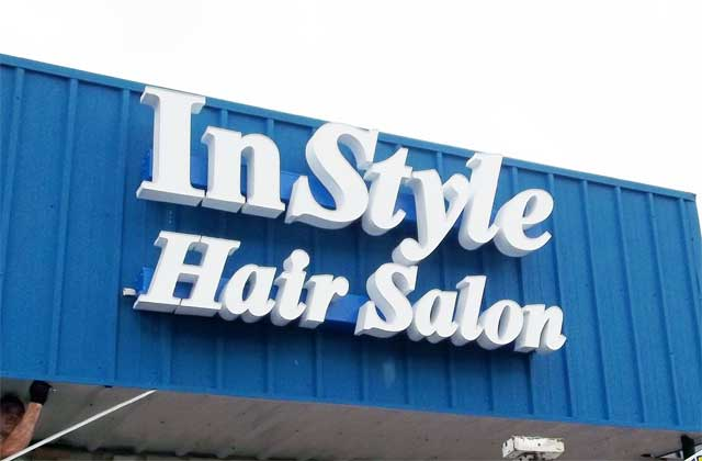 Beauty Salon Signs
