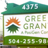 Retail Monument Sign - Green Grants