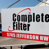 Retail Aluminum Panel Sign - Complete Filter
